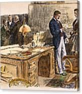 Spanish-american War Canvas Print