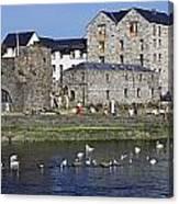 Spanish Arch, Galway City, Ireland Canvas Print