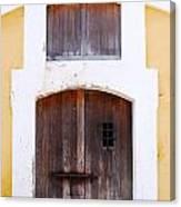 Spanish Fort Door Castillo San Felipe Del Morro San Juan Puerto Rico Prints Canvas Print