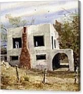 Spanish Mansion Canvas Print