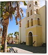 Spanish Mission In Todos Santos Canvas Print