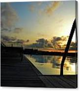 Spanish Sunrise Canvas Print