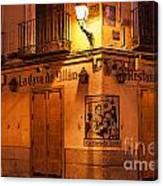 Spanish Taberna Canvas Print