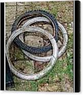 Spare Tires Canvas Print