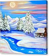 Sparkling Winter Canvas Print