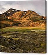 Spectacular Landmannalaugar Canvas Print