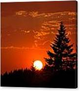 Spectacular Sunset II Canvas Print