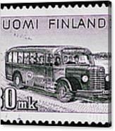 Speedy Old Bus Canvas Print