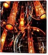 Spherical Lamps Canvas Print
