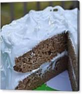 Spice Cake Canvas Print