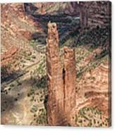 Spider Rock - Canyon De Chelly Canvas Print