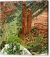 Spider Rock Canvas Print
