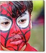 Spiderboy Canvas Print