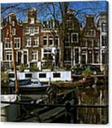 Spiegelgracht 28. Amsterdam Canvas Print