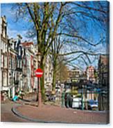 Spiegelgracht 36. Amsterdam Canvas Print