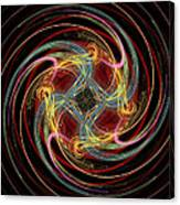 Spin Fractal Canvas Print