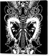 Spine Of Mine Canvas Print