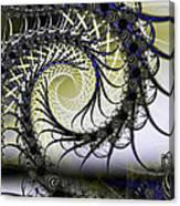 Spiral Web Canvas Print