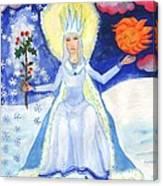 Spirit Of Winter Canvas Print