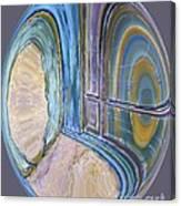 Spiritual Panes Canvas Print