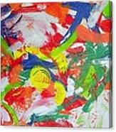Splash Of Lemons Canvas Print
