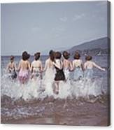 Splashing Into Lake George Canvas Print