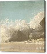 Splashing Wave Canvas Print