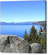 Splendid Lake Tahoe Canvas Print