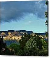 Splendor Of The Mountains Canvas Print