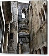 Split Croatia's Old Town Canvas Print