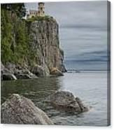 Split Rock Lighthouse In Northern Minnesota Canvas Print
