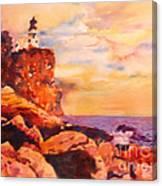 Split Rocks Golden Memories       Canvas Print