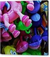 Sponge Bob Gets Trampled Canvas Print