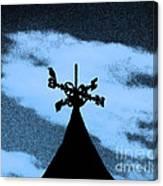 Spooky Silhouette Canvas Print