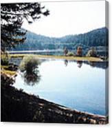 Spooner Lake Shadows Canvas Print