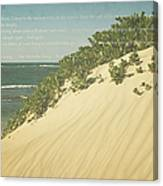 Sprecks - The Dunes Canvas Print