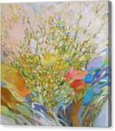 Spring - Square Painting Canvas Print