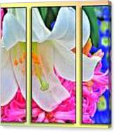 Spring Again Triptych Series Canvas Print