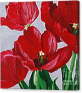 Spring Flirt Canvas Print
