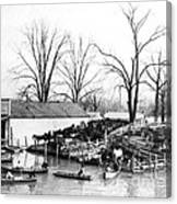 Spring Flood, 1903 Canvas Print