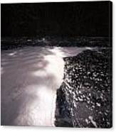 Spring Flood Foam Bath Canvas Print