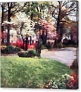 Spring In The Neighborhood Canvas Print