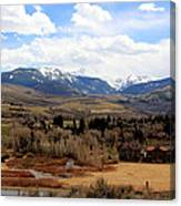 Spring In The Rockies Canvas Print
