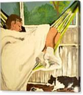 Spring Snooze Canvas Print