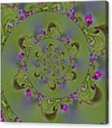 Spring Spiral. Canvas Print