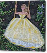 Spring Swing Canvas Print