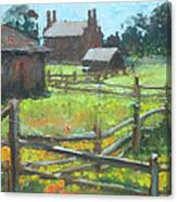 Spring Time In Nauvoo Canvas Print