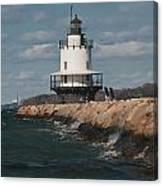 Springpoint Ledge Light House Canvas Print
