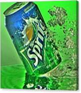 Sprite Splash Canvas Print
