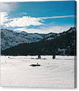 Squaw Valley Panoramic Canvas Print